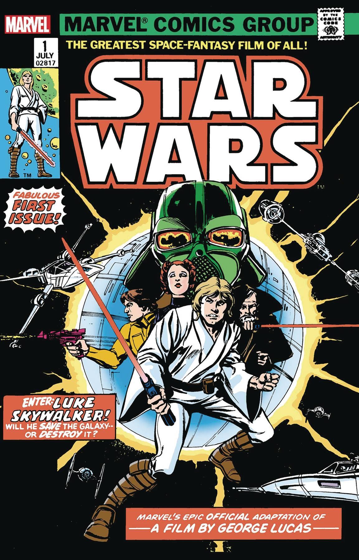 Star Wars (1977) #1 Facsimile Edition