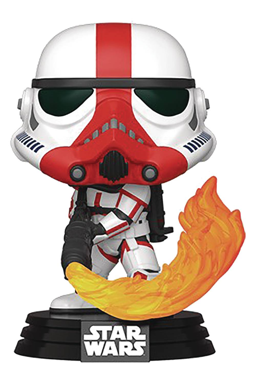 Funko Pop Star Wars Mandalorian Incinerator Stormtrooper