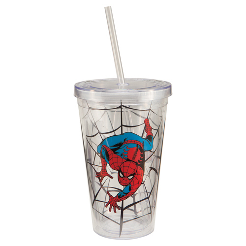 Spider-Man 18 Oz. Travel Cup