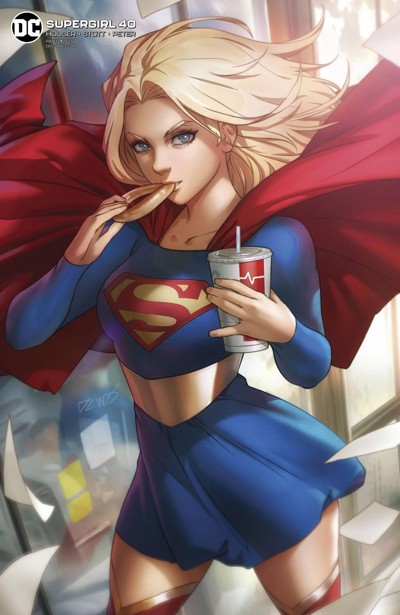 Supergirl #40 Card Stock Derrick Chew Var Ed