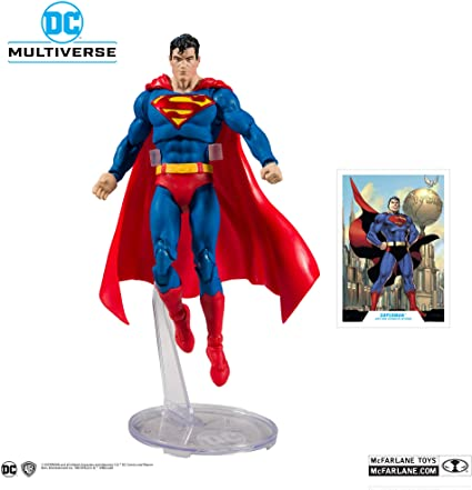 "McFarlane Toys DC Multiverse Superman Classic 7"" Deluxe Figure"