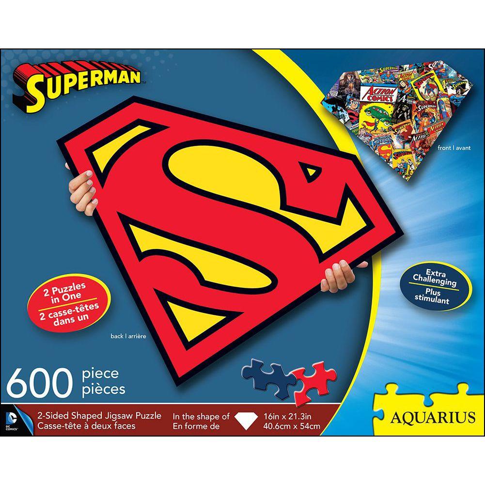 Aquarius - Superman 600 PC Puzzle