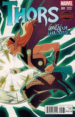 Thors #1 Gwen of Thunder Variant