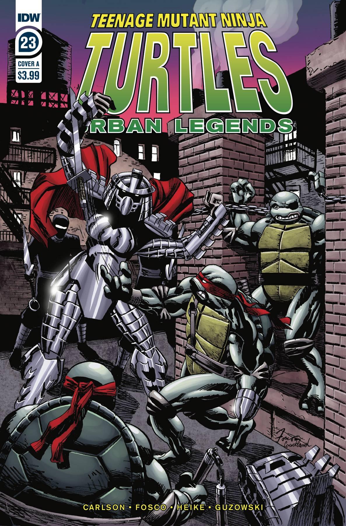 Teenage Mutant Ninja Turtles Urban Legends #23