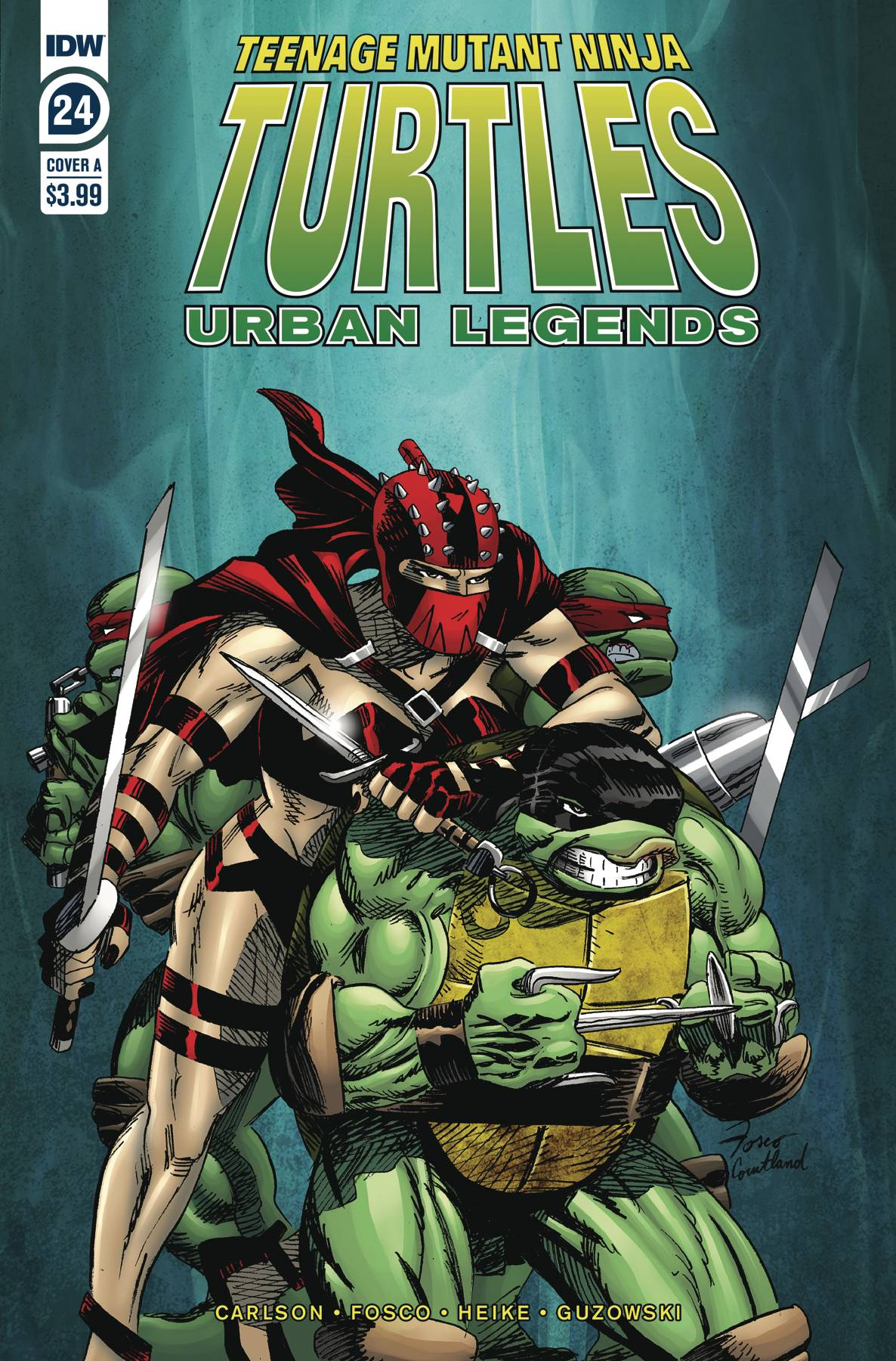 Teenage Mutant Ninja Turtles Urban Legends #24