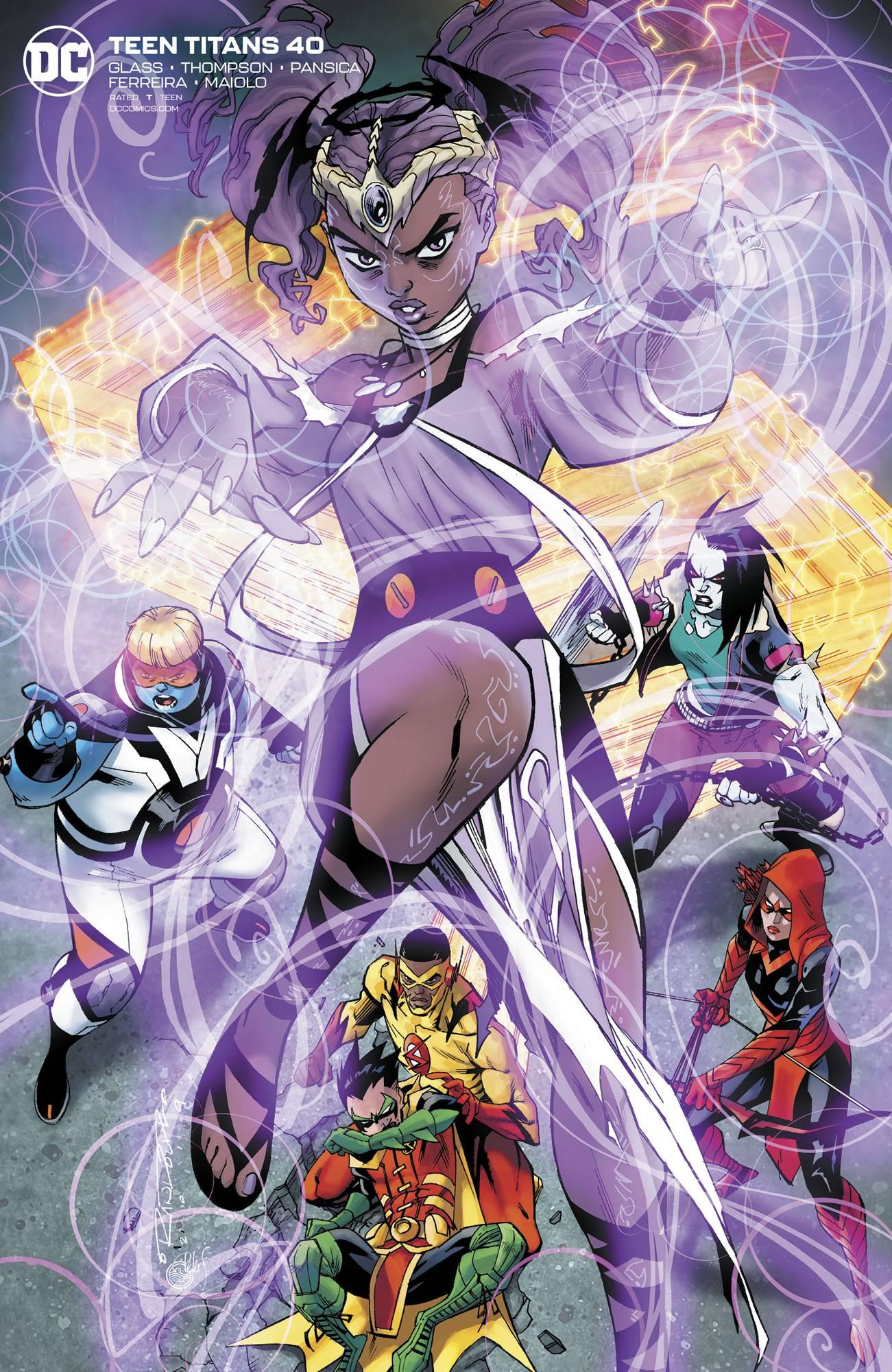 Teen Titans #40 Khary Randolph Var Ed