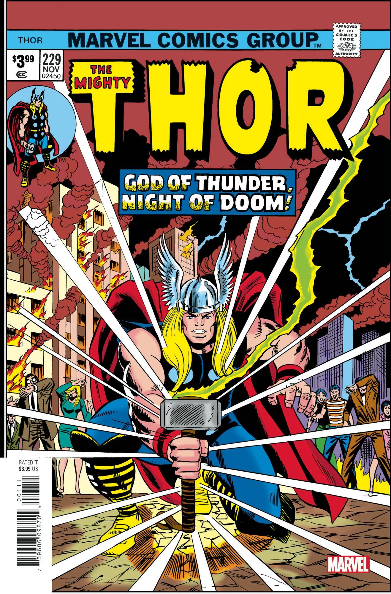 Thor #229 Facsimile Edition