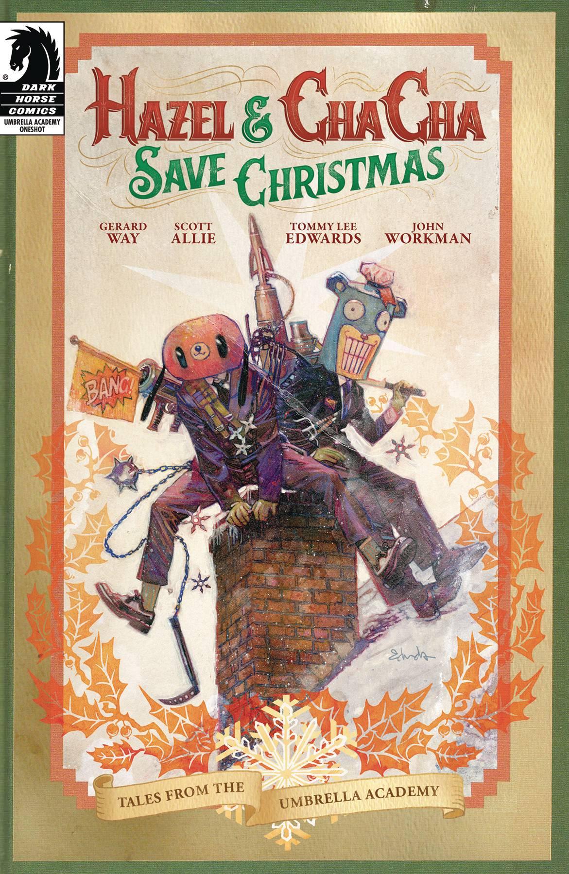 Hazel & Cha Cha Save Christmas Tales from Umbrella Academy CVR A