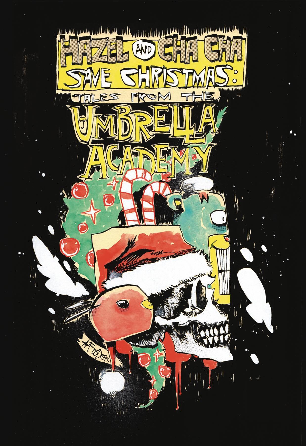 Hazel & Cha Cha Save Christmas Tales from Umbrella Academy CVR B