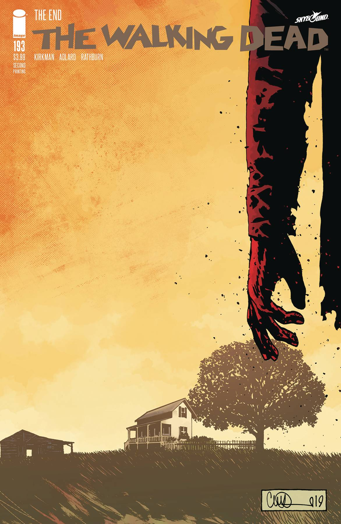 Walking Dead #193 2nd Print
