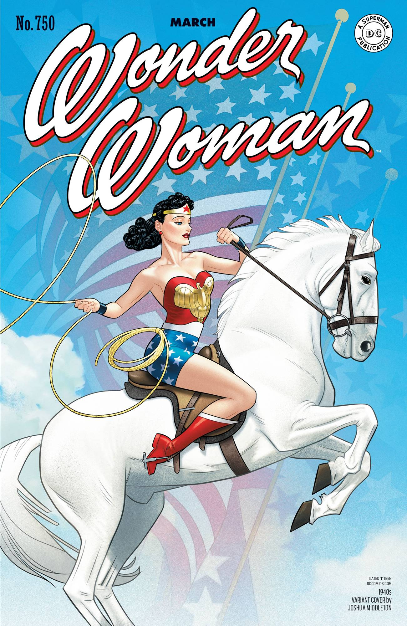 Wonder Woman #750 1940's Var Ed