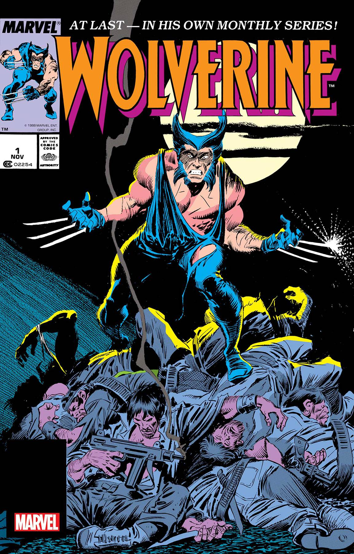 Wolverine #1 by Claremont & Buscema Facsimile Edtion