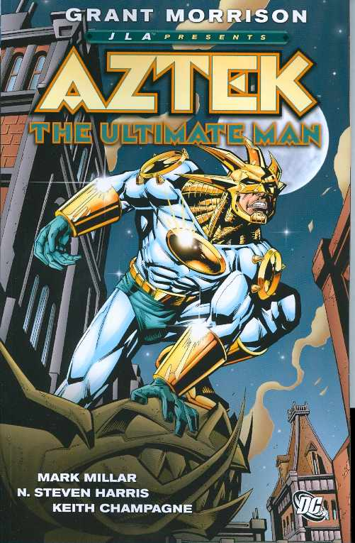 JLA Presents: Aztek - The Ultimate Man TP