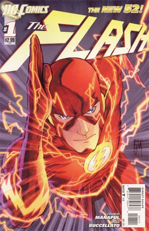 Flash #1 New 52 First Print