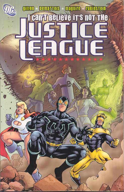 JLA: I Can't Believe It's Not The Justice League TP