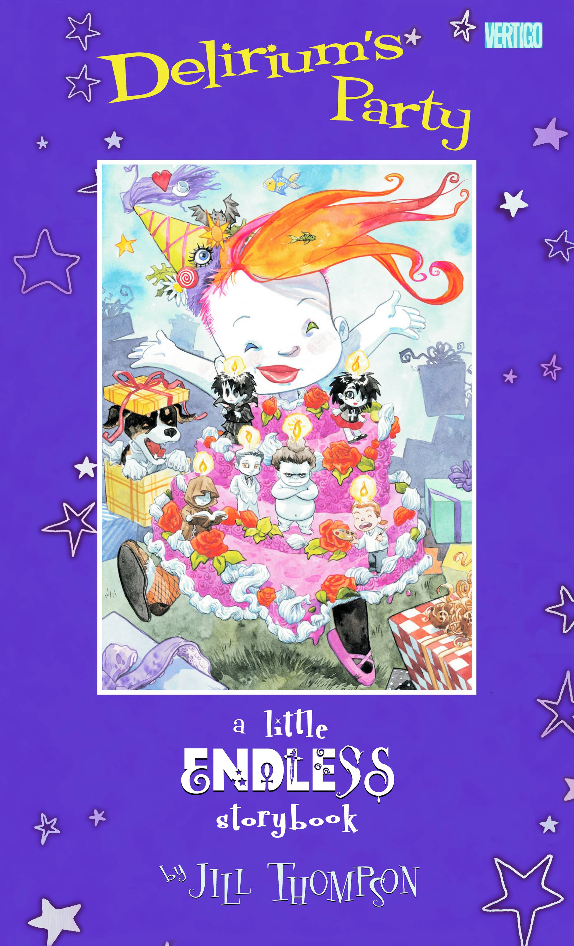 Little Endless Storybook: Delirium's Party HC