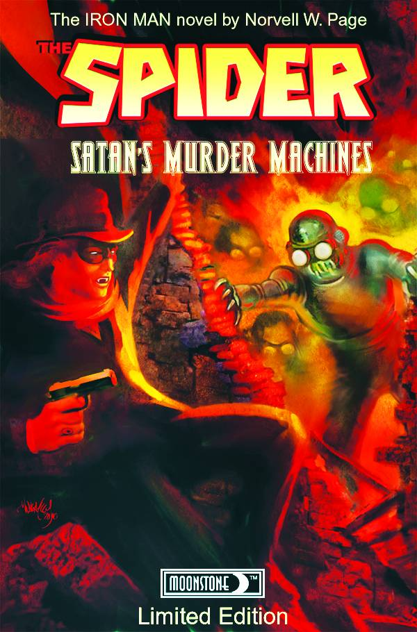 Spider: Satan's Murder Machines HC