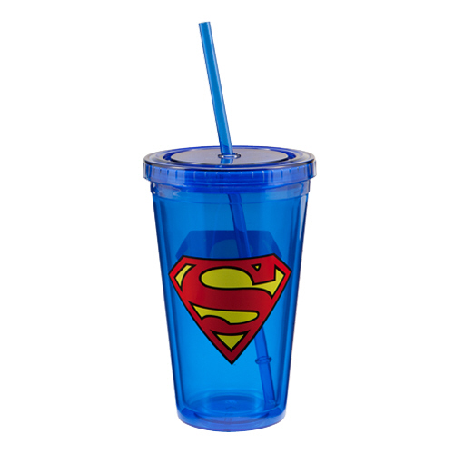Superman 18 oz. Travel Cup