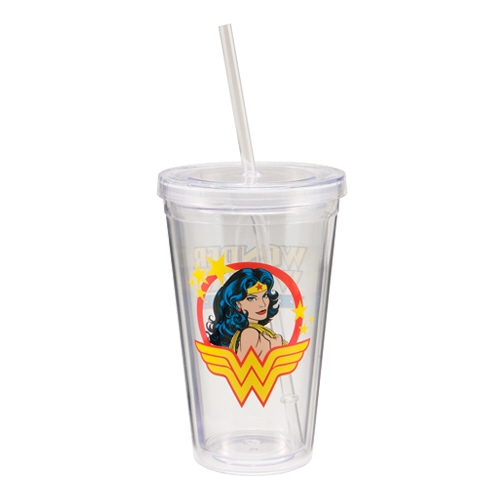 Wonder Woman 18 oz. Travel Cup